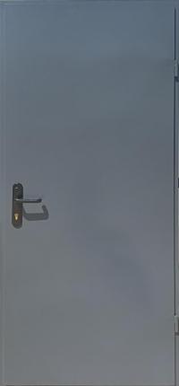 Технические двери «RAL-7024»(Графит) улица