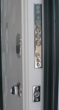 Кристалл LUX Антрацит уличные двери