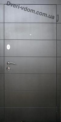 Алегро (черно-белые) с терморазрывом уличные двери