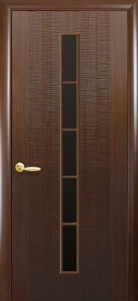 "Двері міжкімнатні Фортіс Делюкс ""Дюна 1S BLK"""
