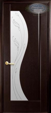 Міжкімнатні двері Ескада зі склом