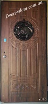 """Входные двери с ковкой """"Элегант-5"""""""