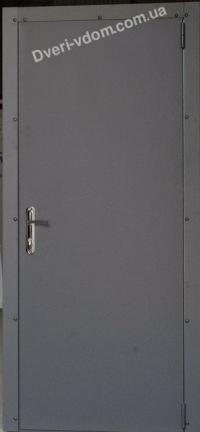 Техническая дверь-оцинковка (Графит)