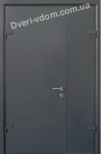 """Полуторные двери """"Techno-door"""" Графит"""