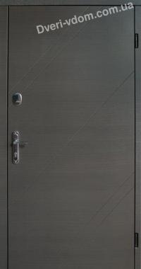 """Уличные двери """"Модерн-Грей"""" серые"""