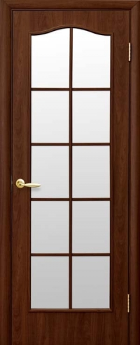 """Двері міжкімнатні  Фортіс """"С""""  горіх"""