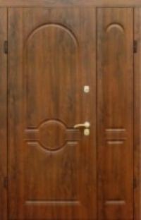 Входные двери  полуторные Страж  модель 54(улица)
