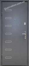 """""""Металл-МДФ DV-11""""(Графит) уличные двери"""