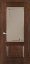 Двері Термінус модель 46 Caro (Венге шоколад)