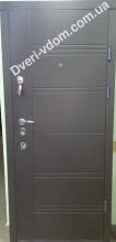 Входные двери 605 венге горизонт/дуб песочный