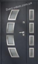 """""""DV-A-10"""" полуторные входные двери"""
