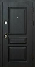 """Уличные двери """"Пальмира черно-белая """" Элит"""