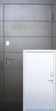 Входные двери Аллегро (черно-белая) квартира