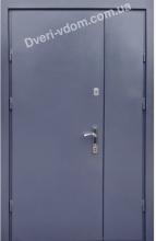 Полуторные двери «М-М 1.5 мм» Антрацит