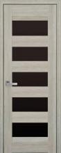 Бронкс (Нано Флекс) черное стекло.