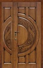 """Полуторные двери """"Кам-Трейд"""". мод Mercury light big 114"""