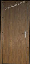Техническая дверь-оцинковка (Дуб)
