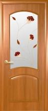 Міжкімнатні двері Аве зі склом
