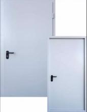 """Противопожарные двери """"ЕI-60"""" Рал-7035"""
