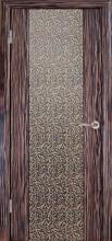 Міжкімнатні двері Глазго декор Золота гілка