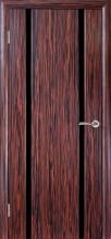 Міжкімнатні двері Глазго-2 Чорний триплекс