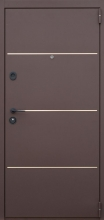 «Грант» металл/металл влагостойкие двери