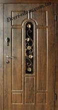 """Входные двери с ковкой """"Грация Стандарт"""""""