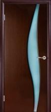 Міжкімнатні двері Кальдера Альфа Венге