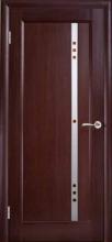 Міжкімнатні двері Каліпсо Фіджи, фьюзинг коричневий, шп.венге
