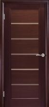 Міжкімнатні двері Каліпсо ст.сатин двухсторонній, шп.Венге
