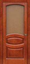 Двери Ольха класические со стеклом