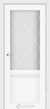 Лаура LR-01 Белый Матовый стекло