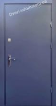 «МЕТАЛЛ-МЕТАЛЛ 1.5 мм» Антрацит уличные двери