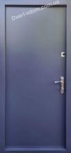 «Металл-Металл 1.2 мм» Антрацит уличные двери