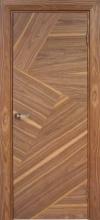 Двері міжкімнатні шпоновані Вудок - Маркетри
