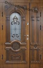 """""""Неаполь-3"""" полуторные двери уличные"""