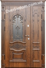 """""""Неаполь-8"""" полуторные двери уличные"""