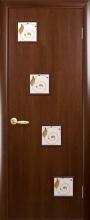 """Двері міжкімнатні Ронда """"Новий Стиль"""" з малюнком"""