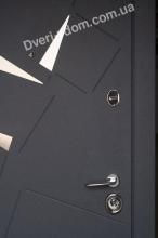 Алькор (серый муар) уличные двери