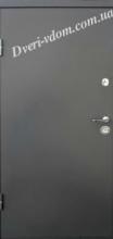 "Металлические двери""Спарта-1"" Графит Рал-7016"