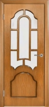 Двери Корона, дуб, орех