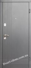 Уличные двери Статус-антрацит (уценка)