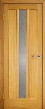 Двери Трояна Дуб, со стеклом