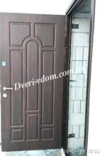 Уличные двери «Металл-Мдф»                            »