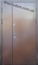Полуторные двери-Металл/МДФ ВИП М
