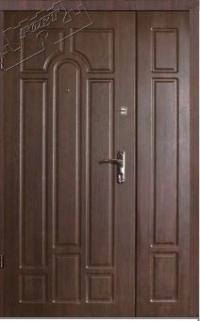 Полуторные двери Форт Люкс-Классик (улица).