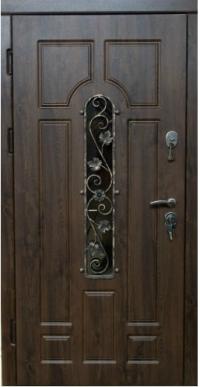 Двери с ковкой « VIP-плюс АРКА-КОВКА »