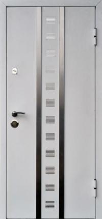 Входные двери Кам-Трейд (Стилгард) Тауэр белый