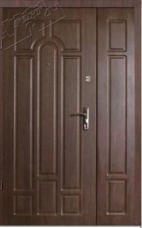 Полуторные входные двери Лакоста Люкс