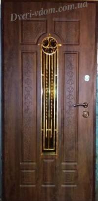 «Омега 2 ковка» уличные двери